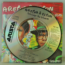 "ELTON JOHN & ARETHA FRANKLIN. THROUGH THE STORM. RARE 3"" CD SINGLE FROM 1989"