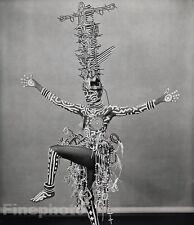 1984 GRACE JONES Exotic KEITH HARING Body Costume Photo Art ROBERT MAPPLETHORPE