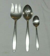 INTERNATIONAL Deluxe Stainless Flatware TODAY Meat Fork Serving Spoon Teaspoon