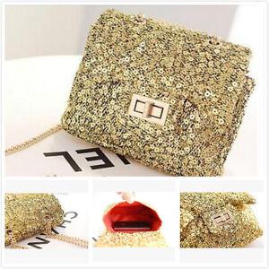 Fashion Mini Womens Sparkling Style Crossbody Bag Shoulder Handbag+free keyrings