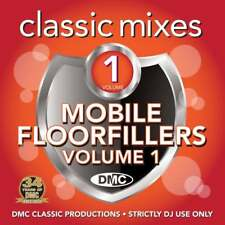 DMC Mobile Floorfillers 1 Megamixes & 2 Trackers Remixes Ft Stevie Wonder DJ CD