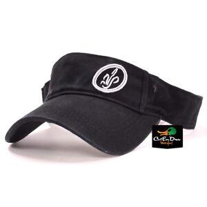 AVERY OUTDOORS GREENHEAD GEAR GHG CATTAIL LOGO VISOR HAT CAP BLACK