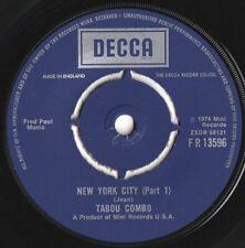 Tabou Combo ORIG UK 45 New York City (Part 1) NM '74 Decca Afrobeat Latin Funk