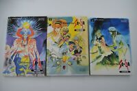 Romancing Saga Set Super Famicom SNES 3 Strategy Guide Books Japanese