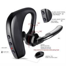 Trucker Wireless Mic Parrot Bluetooth Noise Cancelling Headset Earpiece New USA