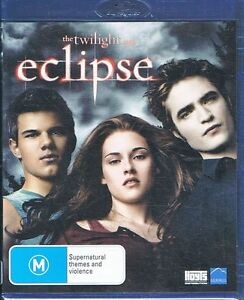 Eclipse - BLU-RAY Twilight Saga - Kristen Stewart, Robert Pattinson NEW & SEALED