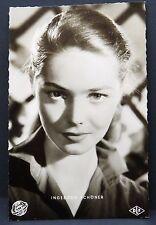 Ingeborg Schöner - AK Foto - Autogramm-Karte - Photo Postcard ( G-2585