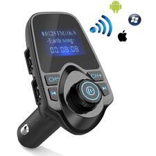 """1.44"""" LCD Screen Car Bluetooth FM Transmitter Kits Dual USB MP3 Player w/ MIC BA"""