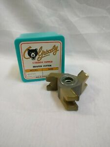 Grizzly Carbide Tipped Shaper Cutter G1711 New in Box