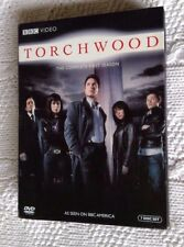 Torchwood: The Complete Season 1 (DVD, 7-DISC BOX SET) R-1, LIKE NEW, FREE POST