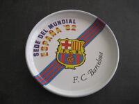 Coaster Metal. Football Club Barcelona Headquarters World Spain 82 Naranjito