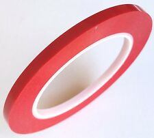"Archival Red 1/4"" x 215' hold down tape for securing 1/4"" reel to reel tape"