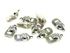 10 Pcs - 10mm Tibetan Silver Baseball Cap Hat Charms Kids Jewellery Pendant K141
