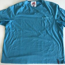 French Connection UK Style Mens 2XL Light Blue Tee Shirt
