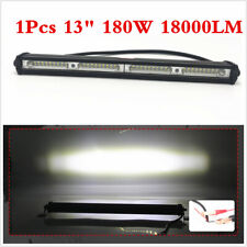 Car SUV 13 Inch 180W LED Work Light Bar Spot Flood Beam Offroad Fog Driving Lamp