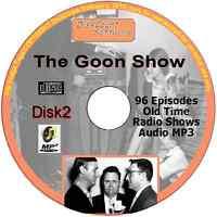 Goon Show 96 Old Time Radio Episodes Audio MP3 CD OTR Spike Milligan disk 2
