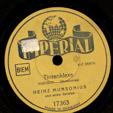 HEINZ MUNSONIUS SOLISTEN  Tintenklexe / Kleinigkeiten    Schellackplatte   S7130