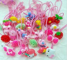 50 Pcs Baby Girl Kids Hair Bands Elastic Ties Ponytail Holder Accessory B