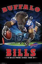Buffalo Bills BILLS PRIDE SINCE 1960 Official NFL Theme Art WALL POSTER