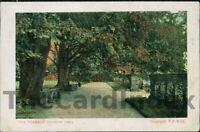 BAKEWELL Haddon Hall Postcard nr Matlock DERBYSHIRE F.F. & Co.
