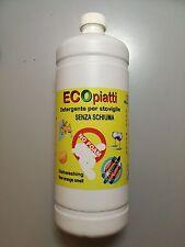 Ecopiatti Detersivo Detergente Piatti no Schiuma Stoviglie Camper Barca Caravan