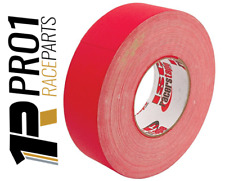 "AllStar 60m 180ft Race Cloth Gaffer Tape 2"" 50mm Wide Speedway Racing Rally RED"