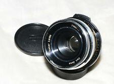 Carl Zeiss Jena Tessar 50mm f/2.8 M42 mount lens VERY RARE MODEL Bayonett filter