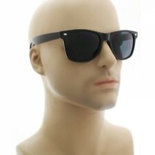 MENS Sunglasses WAYFARE Style Black Frame Classic Dark Lens
