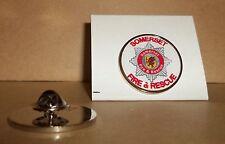 Somerset FIRE e Rescue bavero pin badge