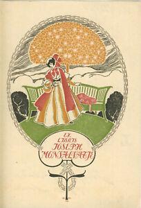 Ex libris Art Deco Exlibris by TRIADO MAYOL JOSE (1870-1929) Spain