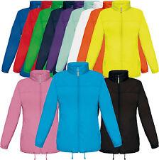 B&C Damen Windjacke - Jacket Sirocco Jacke Women Regenjacke XS S M L XL XXL (C)