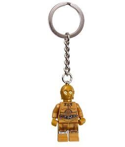 LEGO Star Wars C-3PO C3PO Key Chain Ring 853471 BNWT
