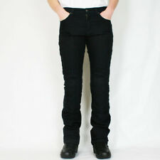 Route One Ladies Motorbike Motorcycle Kevlar Denim Olivia Jeans - Black 14