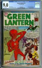 GREEN LANTERN #13 CGC 9.0 WHITE PAGES // 1ST SILVER AGE FLASH CROSSOVER 1962