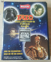 Star Wars Trilogy Collector's Force Pack Tazo's, Walkers 1996 Incomplete