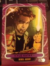 Star Wars 2012 Galactic Files 1 #184 Kyle Katarn Rebel Agent NrMint-MINT