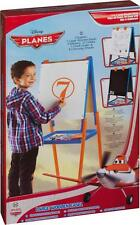 DISNEY PLANES LARGE WOODEN EASEL DRAWING CHALK BOARD WITH COLOURS AND PAPER PENS