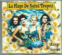 ARMY OF LOVERS La Plage De Saint Tropez- Heterosexuality 4 TRACK CD