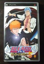 Used PSP Bleach Heat the Soul 5 Import Japan  ((FREE shipping)