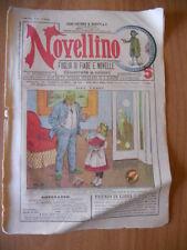 NOVELLINO n. 20/1906 Maria Cavanna Viani Visconti, Nanda Pasquali