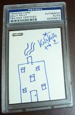Kelly Kelly Signed Original Hand Drawn Sketch WWE Card PSA/DNA COA Auto'd House