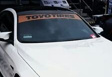 "53"" Toyo Tires windshield banner Decal Sticker sun visor strip window jdm kdm"