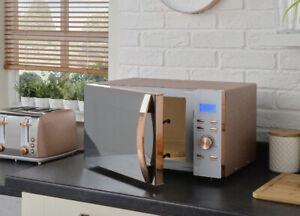 Sparkle 800W Microwave - Rose