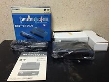 Capcom Power Stick Fighter Wireless Adapter only boxed set Japan Super Famicom