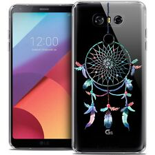Coque Crystal Gel Pour LG G6 Extra Fine Souple Dreamy Attrape Rêves Rainbow