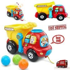 Toddler Truck Toy Learning Game Play Educational Drop Go Dump Set Baby Gift