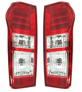 *NEW* TAIL LIGHT REAR BACK LAMP (LED) for ISUZU D-MAX  DMAX  6/2012 - 2017 PAIR