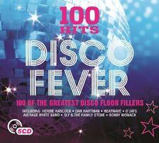100 Hits Disco Fever  5 x CD  (Brand New) Gifting  O'Jays Isleys Baccara TSOP