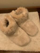 NWOB - UGG Women's Amary Faux Fur Slipper Booties Quartz Pink Size 8