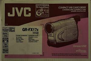 VHS- C Camcorder JVC GR-FX17E Rarität